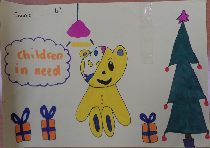Line Drawing Ks2 : Ks pudsey drawing competition success holy trinity primary school